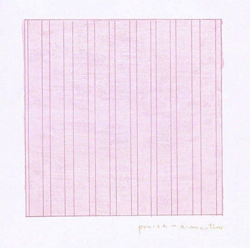 Agnes Martin   Praise (1976)